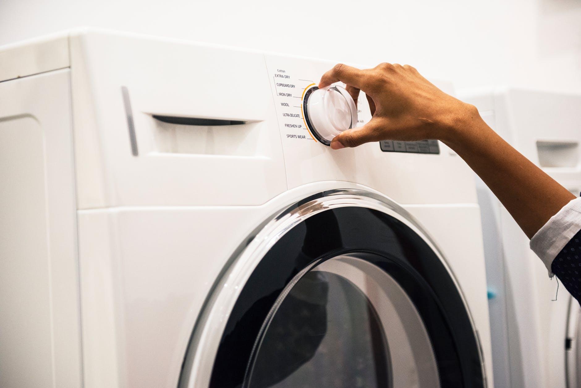 Minha rotina de lavanderia